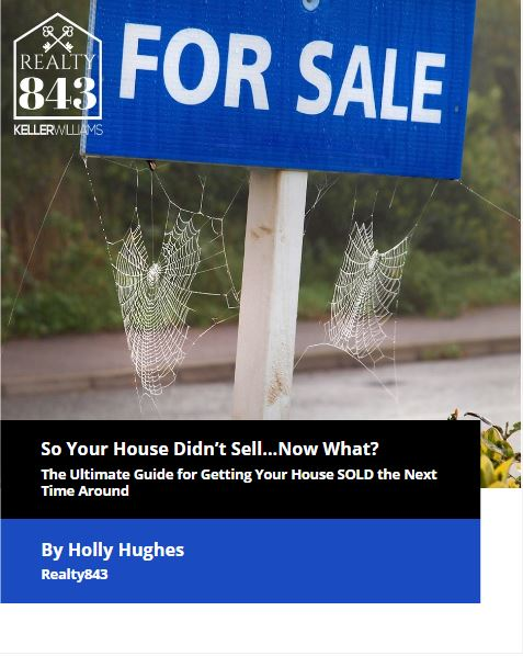 Cover Your House Didn't Sell....now what.